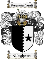 Claghorn Family Crest / Coat of Arms JPG or PDF Image Download