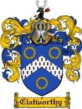 Clatworthy Family Crest / Coat of Arms JPG or PDF Image Download - $6.99