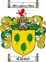 Cleary coat of arms download