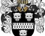 Cluffe coat of arms download thumb155 crop
