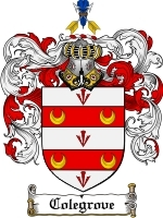 Colegrove Family Crest / Coat of Arms JPG or PDF Image Download