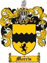 Morris Family Crest / Coat of Arms JPG or PDF Image Download - $6.99