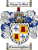 Primary image for Connaughten Family Crest / Coat of Arms JPG or PDF Image Download