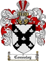 Primary image for Connelay Family Crest / Coat of Arms JPG or PDF Image Download