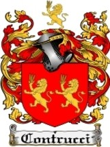 Contrucci Family Crest / Coat of Arms JPG or PDF Image Download - $6.99