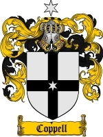 Primary image for Coppell Family Crest / Coat of Arms JPG or PDF Image Download
