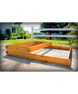 Garden Bed Raised Planter Cedar Tiered Tier Flower Box Vegetable Outdoor... - $124.99