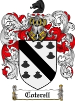Coterell coat of arms download