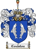 Coulston Family Crest / Coat of Arms JPG or PDF Image Download