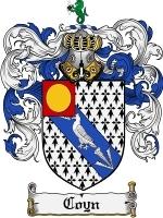 Coyn coat of arms download