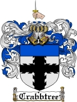 Crabbtree Family Crest / Coat of Arms JPG or PDF Image Download