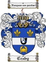 Primary image for Craby Family Crest / Coat of Arms JPG or PDF Image Download