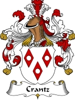 Crantz Family Crest / Coat of Arms JPG or PDF Image Download