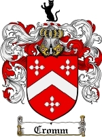 Primary image for Cromm Family Crest / Coat of Arms JPG or PDF Image Download