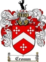 Cromm Family Crest / Coat of Arms JPG or PDF Image Download - $6.99