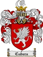Cubera Family Crest / Coat of Arms JPG or PDF Image Download
