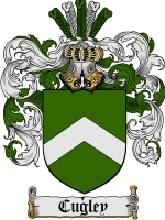 Primary image for Cugley Family Crest / Coat of Arms JPG or PDF Image Download