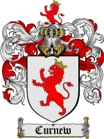 Primary image for Curnew Family Crest / Coat of Arms JPG or PDF Image Download