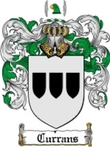 Currans Family Crest / Coat of Arms JPG or PDF ... - $6.99