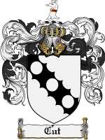 Primary image for Cut Family Crest / Coat of Arms JPG or PDF Image Download