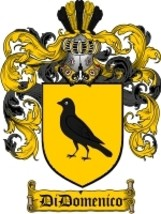 Didomenico Family Crest / Coat of Arms JPG or PDF Image Download - $6.99