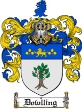 Dowlling Family Crest / Coat of Arms JPG or PDF Image Download - $6.99