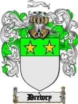 Drewry Family Crest / Coat of Arms JPG or PDF Image Download - $6.99
