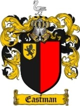 Eastman Family Crest / Coat of Arms JPG or PDF Image Download - $6.99