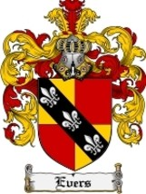 Evers Family Crest / Coat of Arms JPG or PDF Image Download - $6.99
