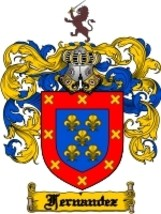 Fernandez Family Crest / Coat of Arms JPG or PDF Image Download - $6.99