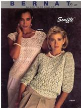 Bernat Souffle   Sweaters   1984 Book  No. 550 - $12.99