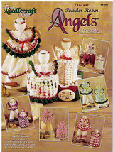 Crochet POWDER ROOM ANGELS 1998 Needlecraft Sho... - $11.64
