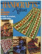 Mc Call's Handcrafts Afghans   1976 Volume Iii - $7.00
