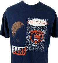 Vintage Chicago Bears T Shirt NFL Single Stitch Tee 80s 90s USA Football... - $24.99