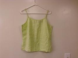 GAP Light Green 100% Linen Cami Top size M