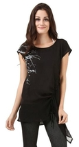 Black Kali Blouse NEW in size L / XL  - $34.99