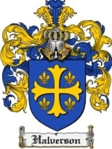 Halverson Family Crest / Coat of Arms JPG or PDF Image Download - $6.99