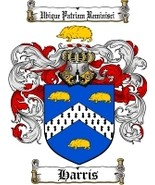 Harris Family Crest / Coat of Arms JPG or PDF I... - $6.99