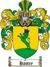 Hastey Family Crest / Coat of Arms JPG or PDF Image Download - $6.99