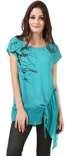 Primary image for Blue Kali Blouse NEW in size L / XL