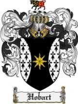 Hobart Family Crest / Coat of Arms JPG or PDF Image Download - $6.99