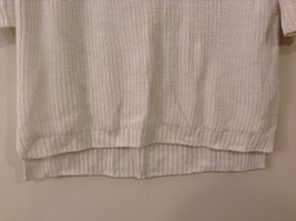 Sonoma Knitted White Scoop Neck 1/2 Sleeve Acrylic Sweater size XL image 5