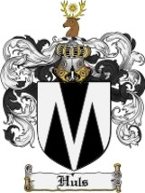 Huls Family Crest / Coat of Arms JPG or PDF Image Download - $6.99