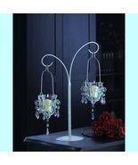 15 LARGE White Candelabra Candleholder WEDDING CENTERPIECES Chandelier 1... - $275.00