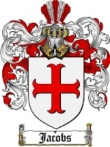 Jacobs Family Crest / Coat of Arms JPG or PDF Image Download - $6.99