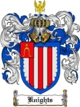 Knights' Family Crest / Coat of Arms JPG or PDF Image Download - $6.99