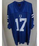 Vintage NFL Reebok Indianapolis Colts Austin Collie # 17 Football Jersey... - $44.32