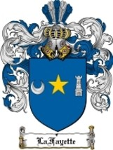 Lafayette Family Crest / Coat of Arms JPG or PDF Image Download - $6.99