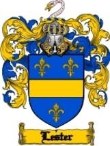 Lester Family Crest / Coat of Arms JPG or PDF I... - $6.99