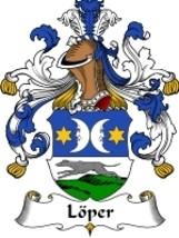 Loper Family Crest / Coat of Arms JPG or PDF Image Download - $6.99
